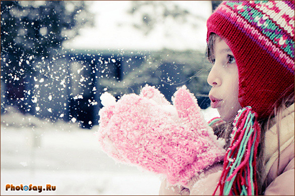 Идеи для фотосессии зимой