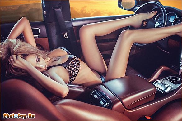 Идеи фото с машиной мужчины